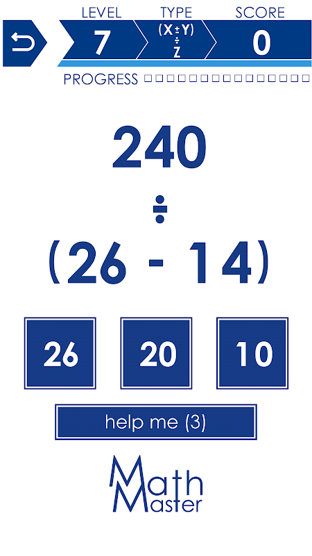 Math Master 2.9 Screen 4