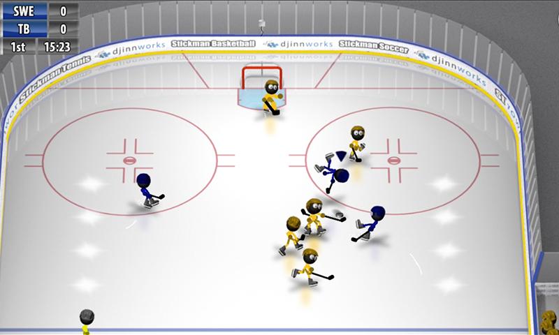 Stickman Ice Hockey 1.8 Screen 2