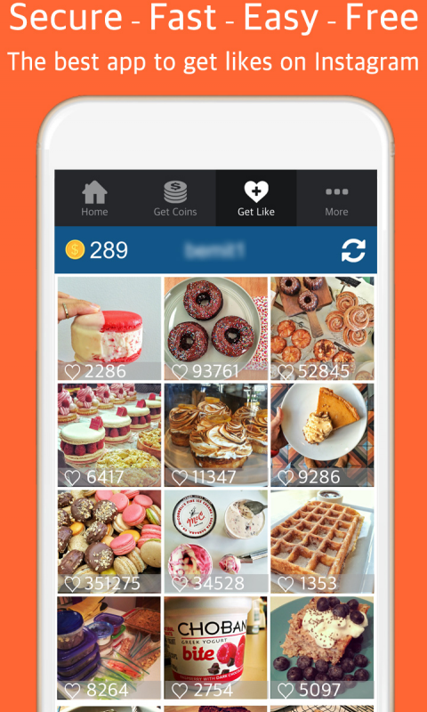 Android Turbo Like for Instagram - get free insta likes on Instagram Screen 3