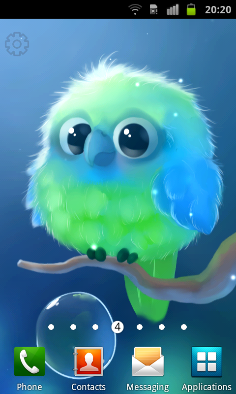 Android Kiwi The Parrot Screen 1