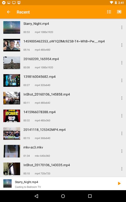 Cast to TV - cast to Chromecast, cast videos to tv 1.1.2.7 Screen 6