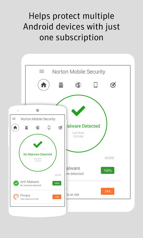 Norton Security and Antivirus 4.4.0.4302 Screen 3