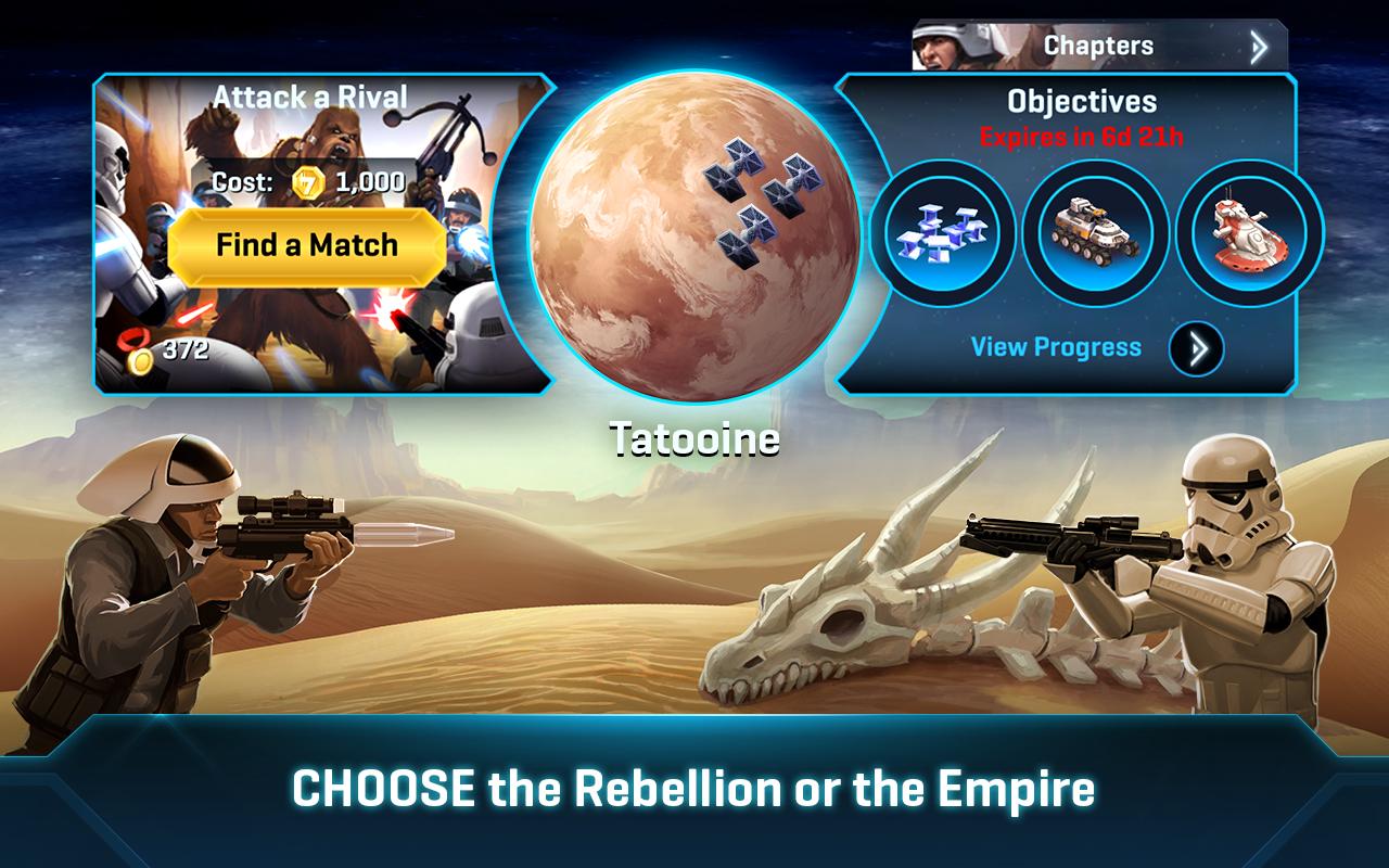 Star Wars™: Commander 7.6.0.172 Screen 2