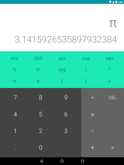 Calculator 5.2 (2419427) Screen 3