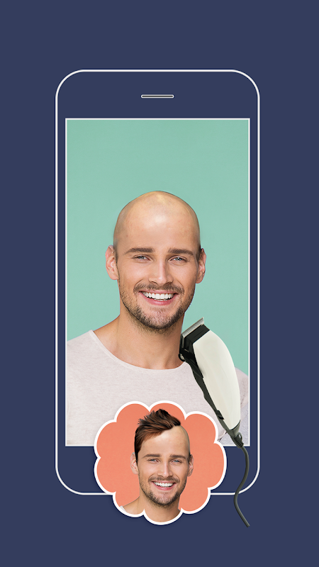 Men Hairstyles -  Make Me Bald 4.0 Screen 1