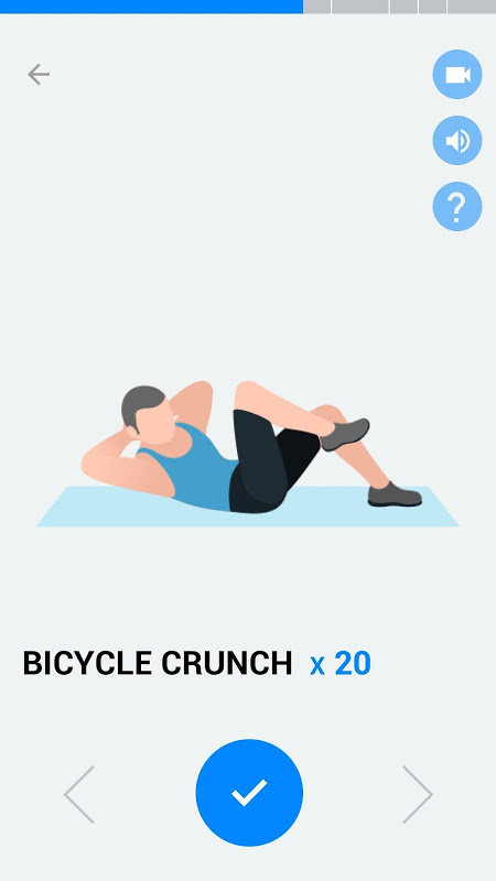 Six Pack in 30 Days - Abs Workout 1.0.10 Screen 2