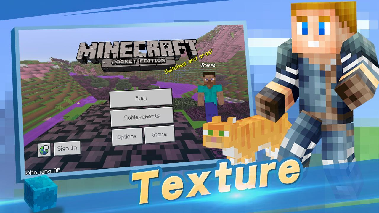 Android Master for Minecraft- Launcher Screen 6