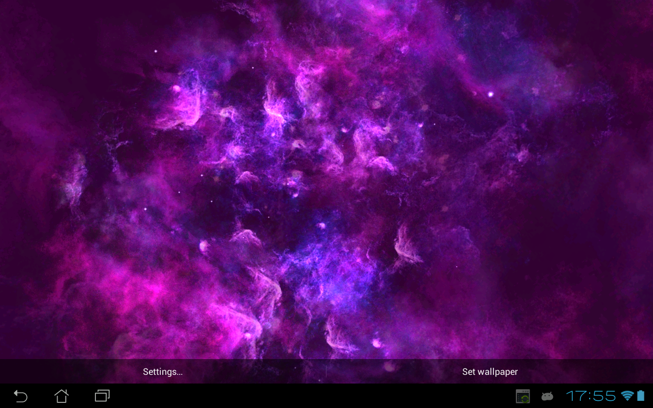 Android Deep Galaxies HD Deluxe Screen 9