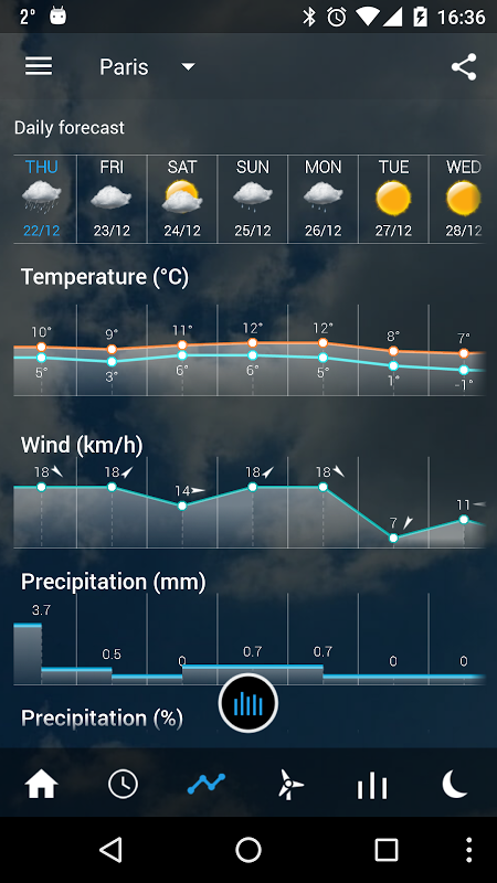 Transparent clock weather Pro 0.99.02.39 Screen 8