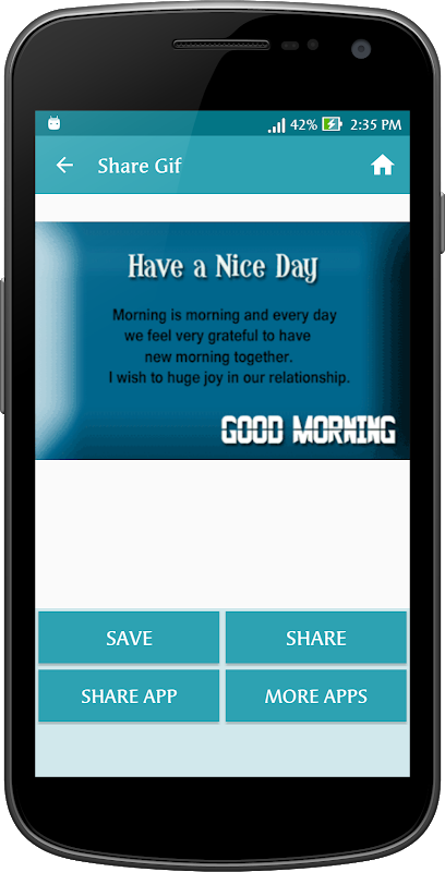 Android Gif Good Morning Messages Collection Screen 12