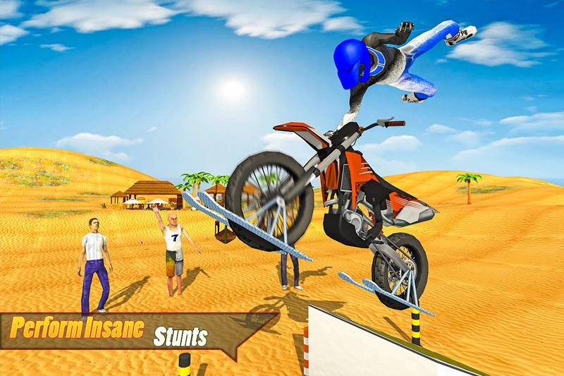 Android Water Surfing Bike Racing Screen 3
