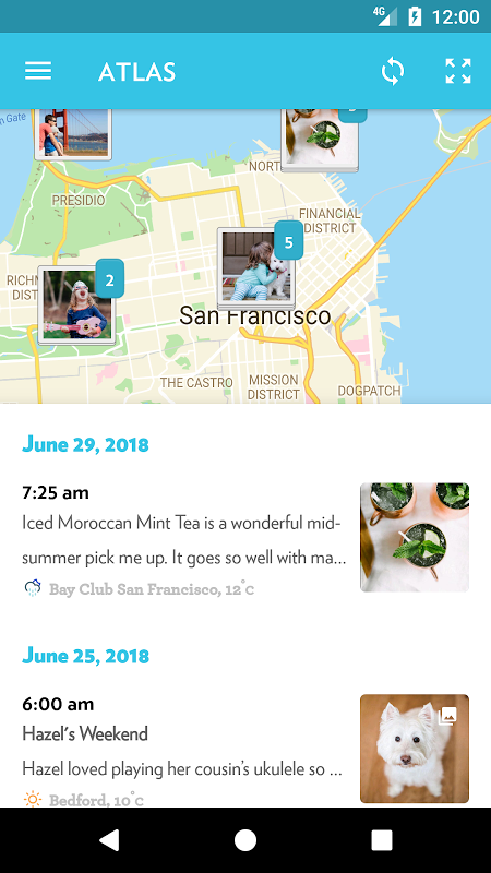 Android Journey - Diary, Journal Screen 6