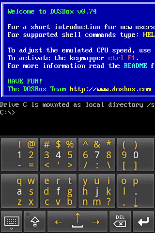 Dosbox Screen Size