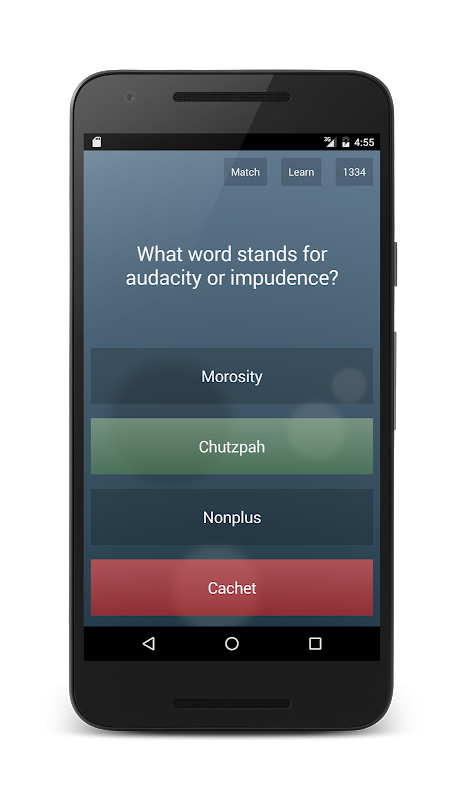 Android General Knowledge Quiz Screen 3