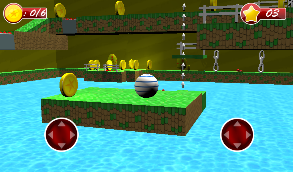 Android 3D Bouncing Ball Free Screen 16