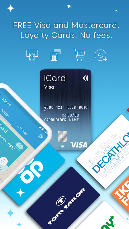 iCard: Digital Wallet for Payments & Loyalty Cards 5.2 Screen 1