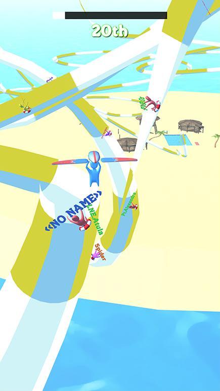 Android Aquapark Race IO Screen 1