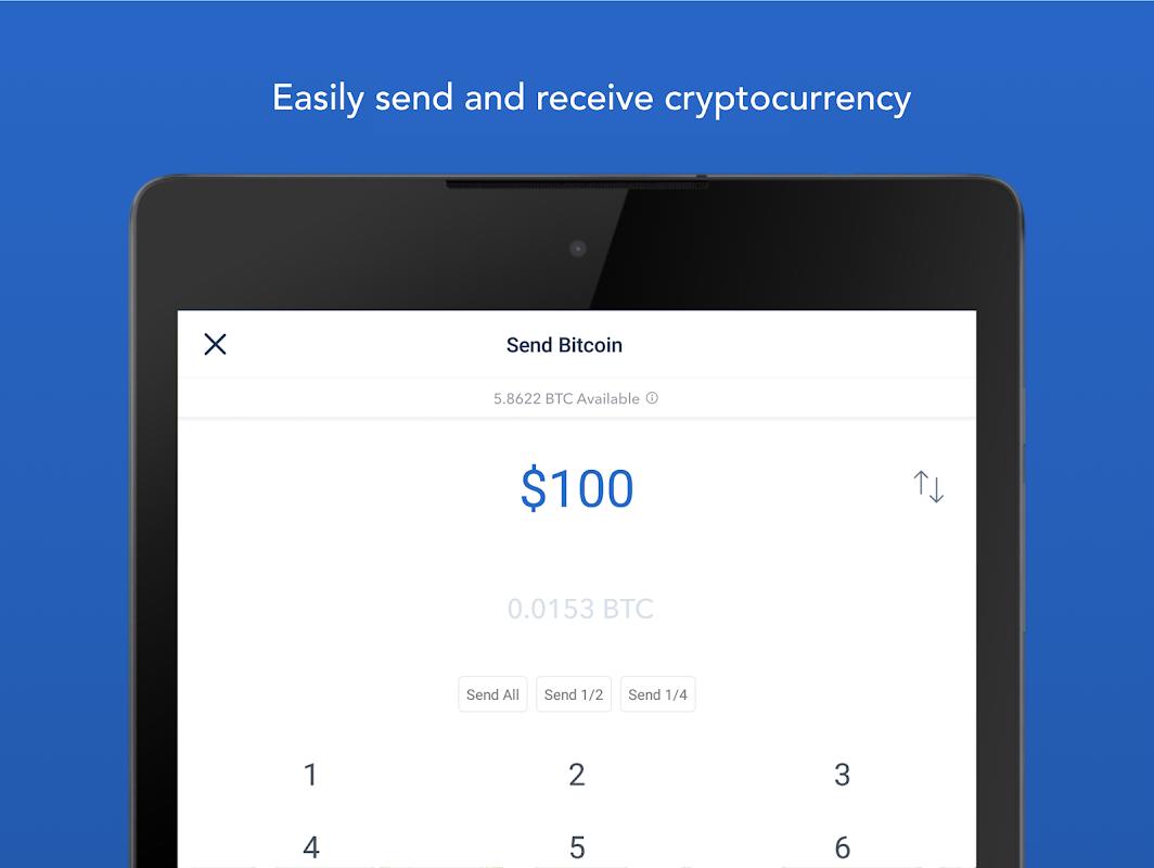 Android Bitcoin Wallet - Coinbase® Screen 8
