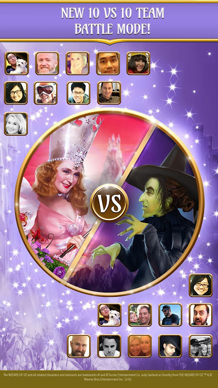 Android The Wizard of Oz Magic Match 3 Screen 12