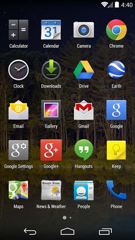 Google Now Launcher 1.4.large Screen 15