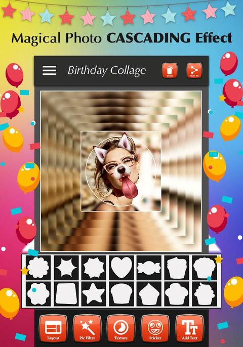 Happy Birthday Photo Collage 1.4 Screen 4