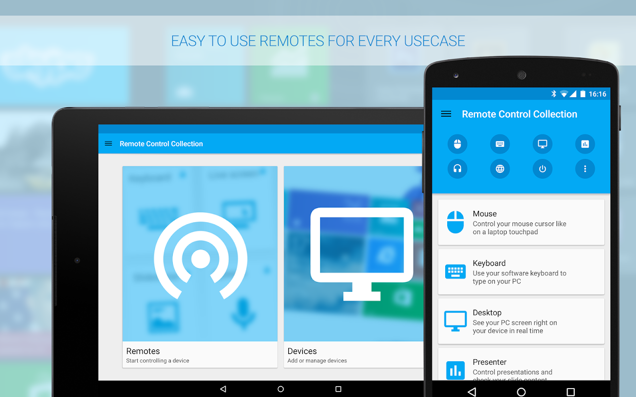 Android Remote Control Collection Screen 8