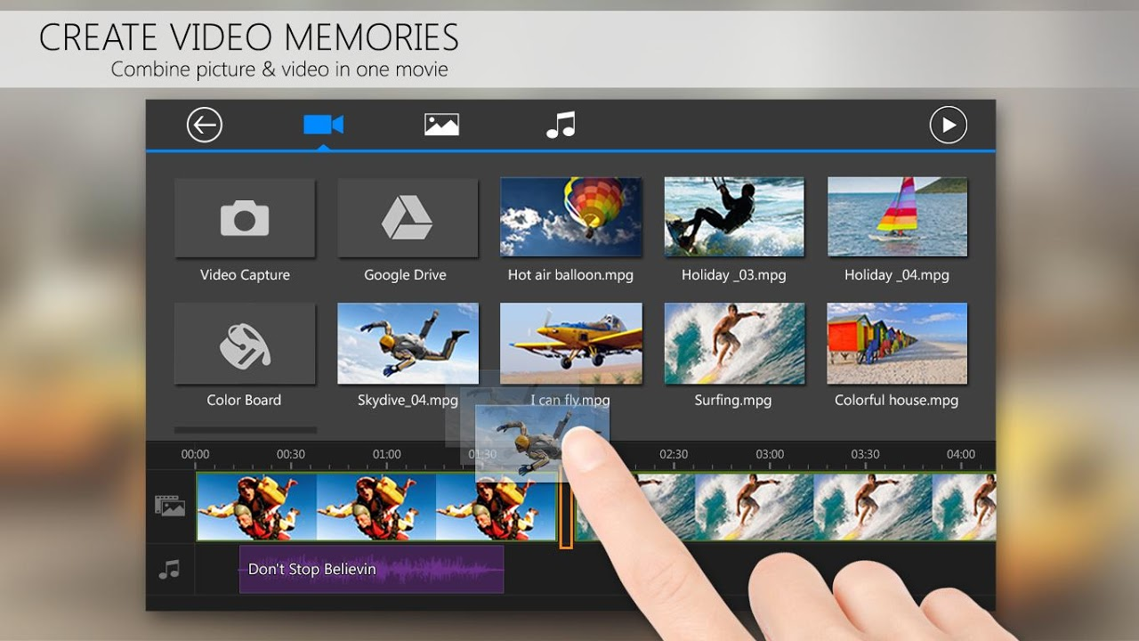 PowerDirector Video Editor App: 4K, Slow Mo & More 4.15.0 Screen 3
