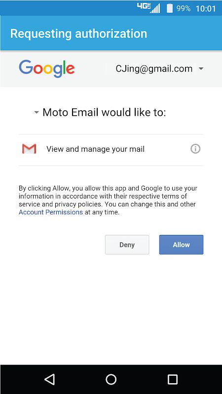 Moto Email MOTOEMAIL 00 09 0058 APK Download by Motorola