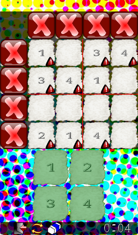 Android Sudoku Frenzy Puzzle Screen 1