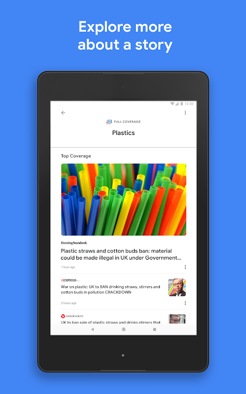 Android Google Play Newsstand Screen 9