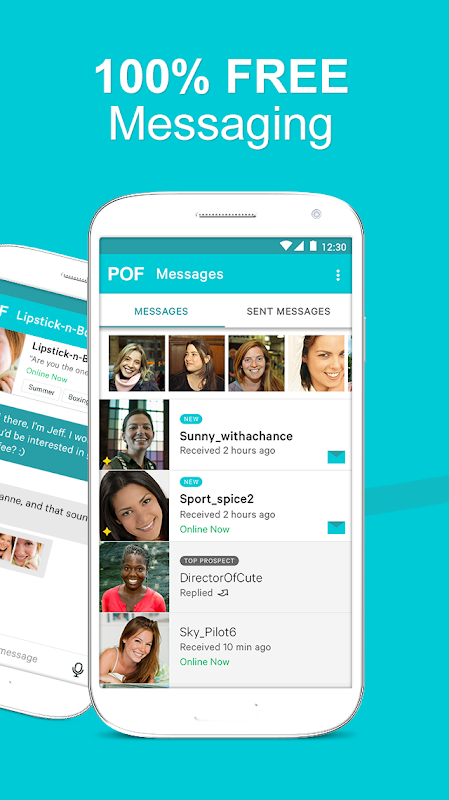POF Free Dating App 3.95.1.1419017 Screen 1