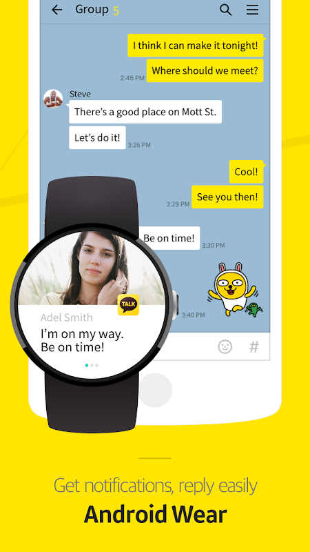 Android KakaoTalk: Free Calls & Text Screen 6