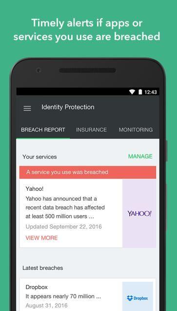 Lookout Security & Antivirus 10.20.1-e6fcce3 Screen 1