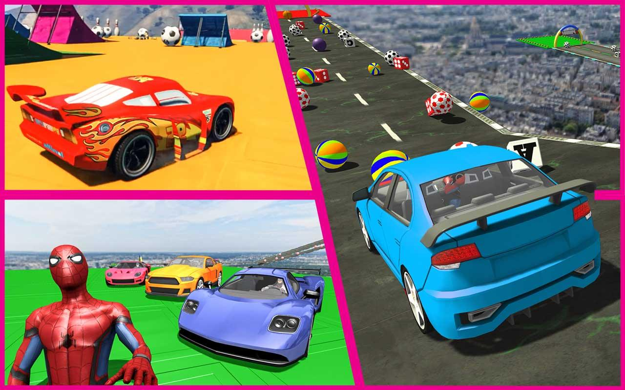 Android Superhero GT Racing Stunts Screen 4