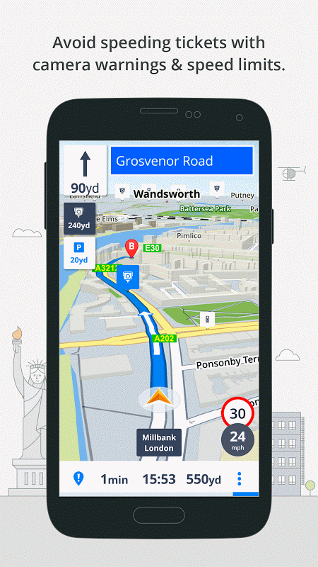 GPS Navigation & Maps Sygic 17.0.7 Screen 5