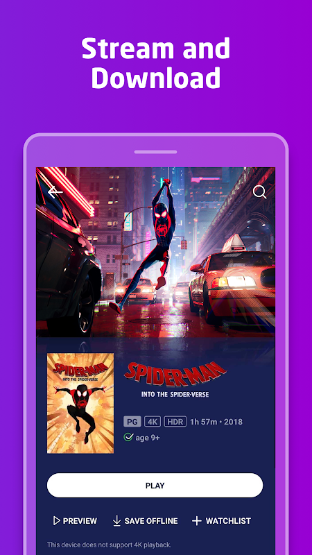 Movies Anywhere 1.19.1 Screen 1
