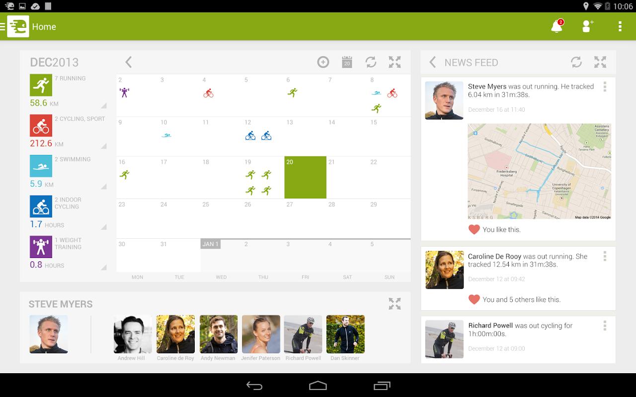 Android Endomondo Sports Tracker PRO Screen 15