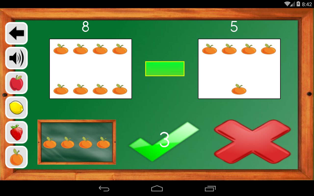 Android Maths Trainer Screen 10