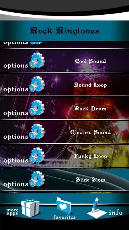 Rock Ringtones 1.2 Screen 5