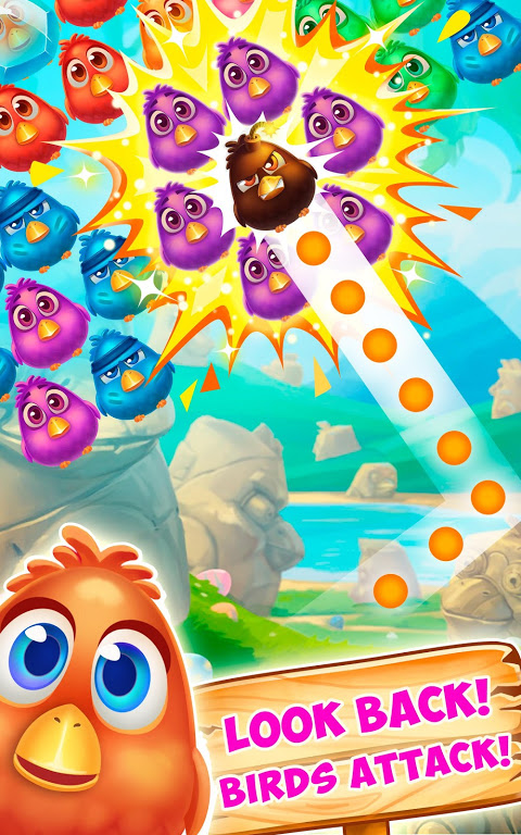 Bubble Birds 4 - Rescue Falling Funny Birds 2.4.1 Screen 6