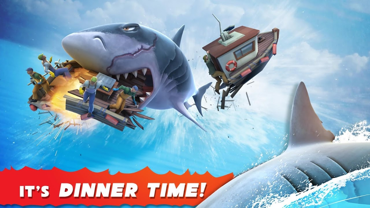 Android Hungry Shark Evolution (Mod) Screen 1