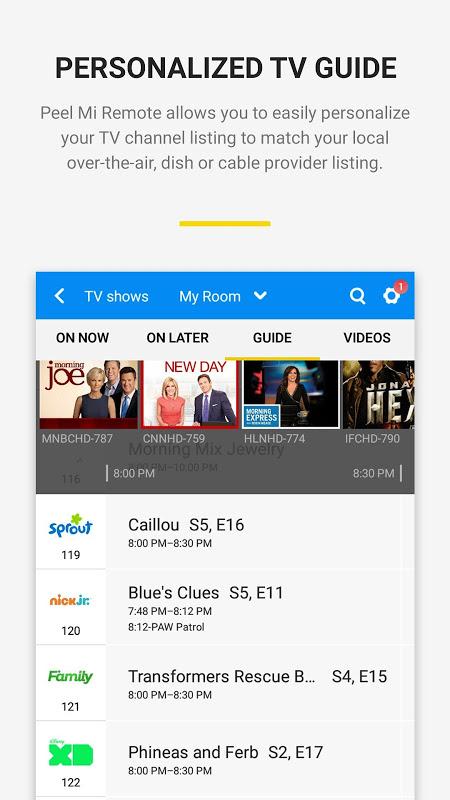 Peel Mi Remote 9.6.3.6-mi Screen 3