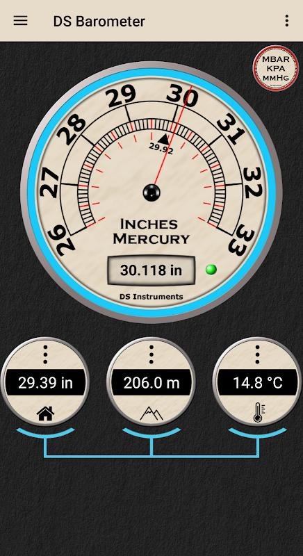 DS Barometer 3.69 Screen 1