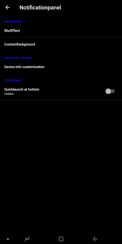 Android Minotaurus Multi RomControl Screen 4