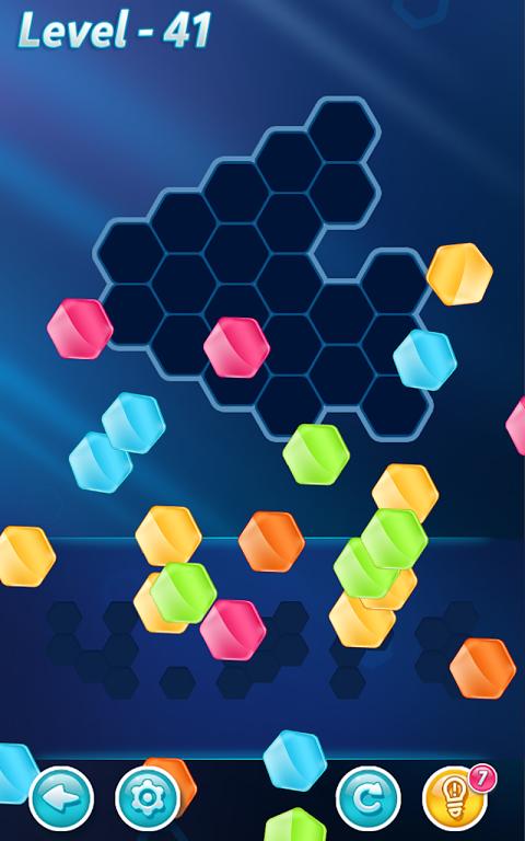 Android Block! Hexa Puzzle Screen 1