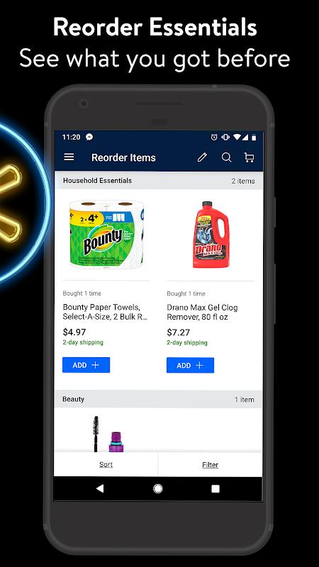 Walmart 19.1.1 Screen 5