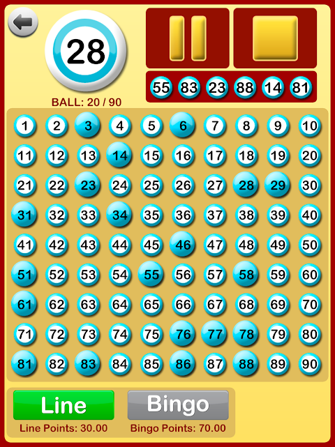 Bingo at Home 3.3.0 Screen 8