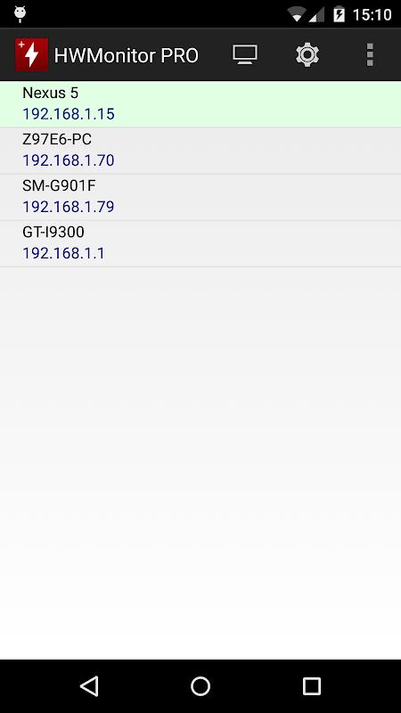 HWMonitor PRO 1.08 Screen 2