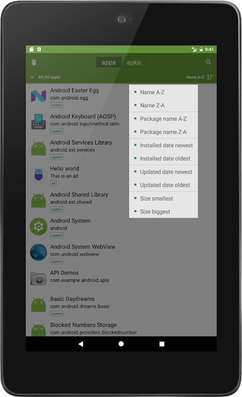 My APK 2.3.8.4 Screen 9