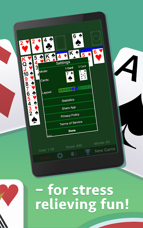Solitaire 3.5.1.3 Screen 8